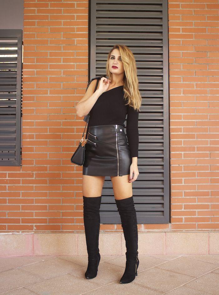Falda de cuero - vdeo / top I Sux HD