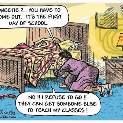 Back To School/ After Vacation ... I don't want to go | Work Humor ...