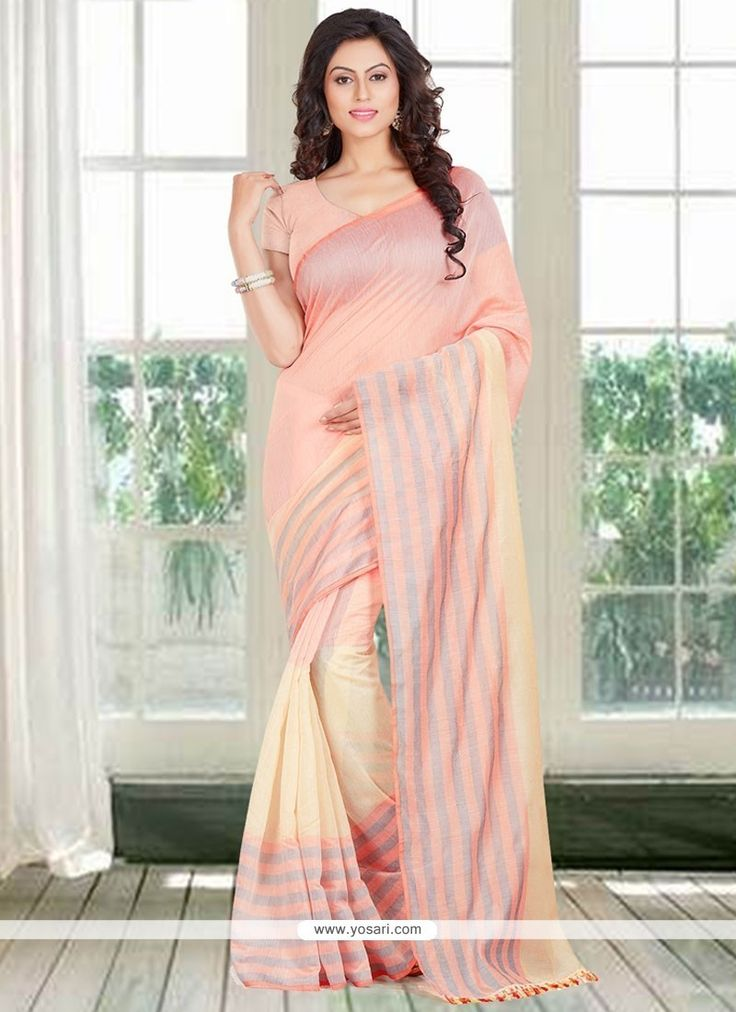 Mystical Woven Work Cotton   Casual Saree Model: YOSAR11732