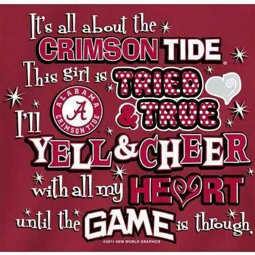 crimson tide essay Those who normally count down the minutes until 2:30 instead counted down  until noon, when they were allowed to pour onto the football field,.