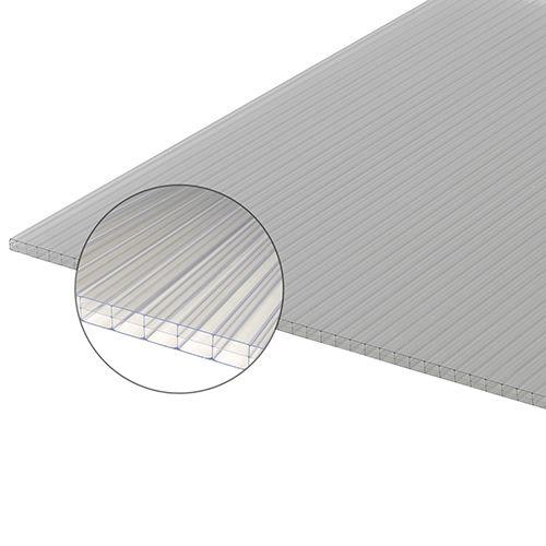 Placa de policarbonato triple 3x0.98m 16mm 2,7kg/m2 Ref. 10603670 - Leroy Merlin