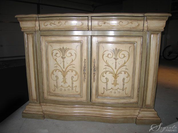 Lovely piece finished by Segreto: Faux Finish, Finishes Paintings Furniture, Paintings Finish, Paintings Ideas, Paintings Decor, Fine Paintings, Paint Finishes, Cabinets Ideas, Furniture Finishes Paintings