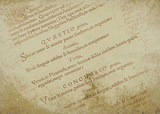 Latin Medical words