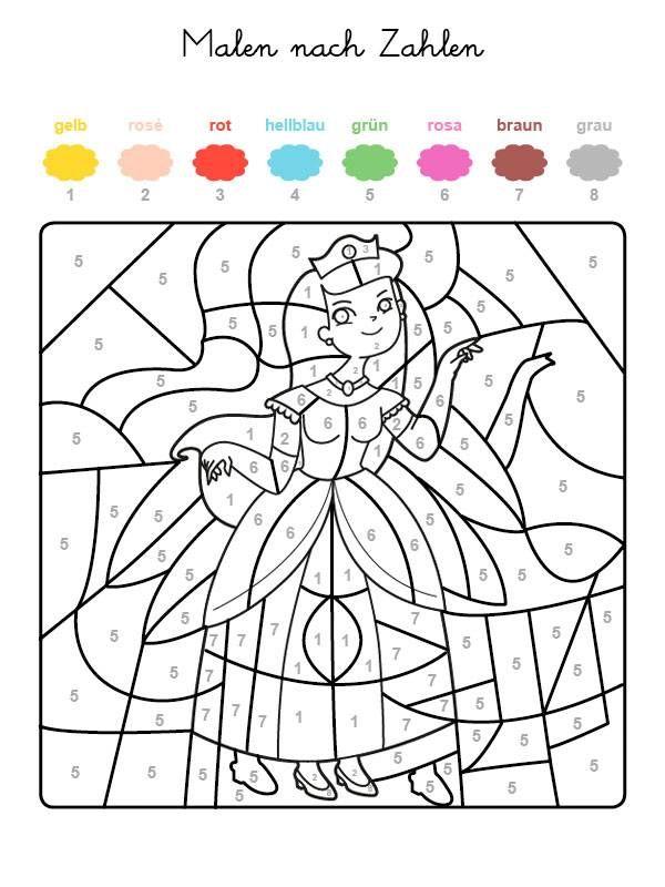Wenn Ihr Kind Das Ganze Motiv Auf Der Kostenlosen Vorlage Mit Den Farben Ausgemalt Hat D Malen Nach Zahlen Vorlagen Malen Nach Zahlen Malen Nach Zahlen Kinder