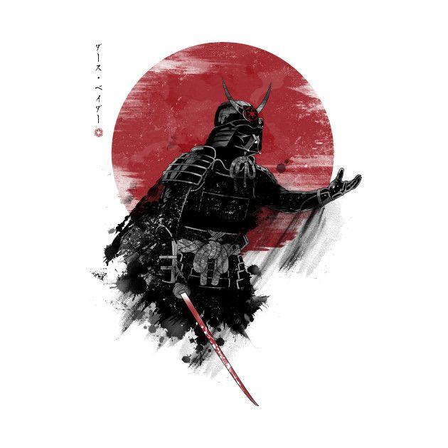 Star Wars Samurai Designs Created By Ddjvigo On Sale Now