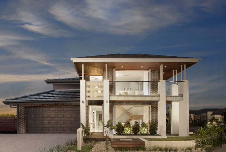 The Edge Facade!  This facade is very understated merging the modern and traditional styles you get the best of both!
