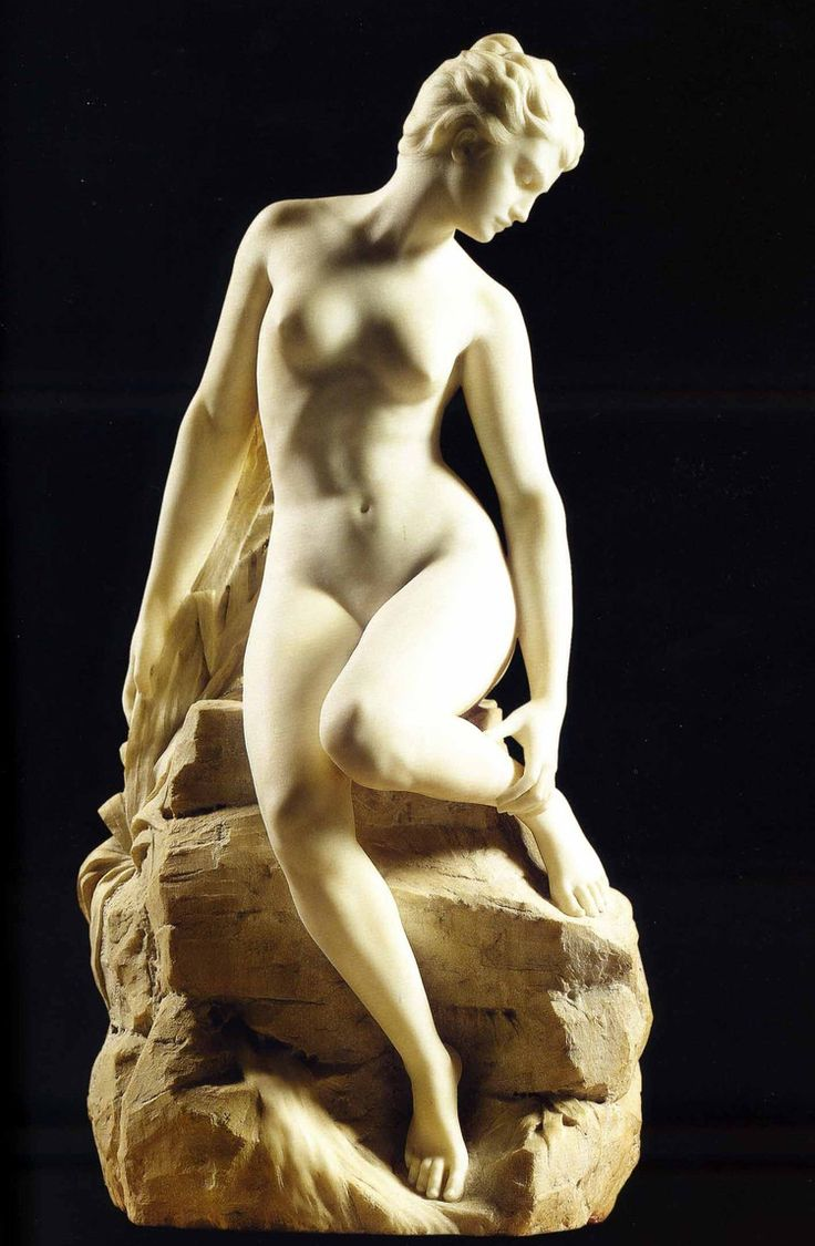 Baigneuse by Alfred Boucher, 1896.