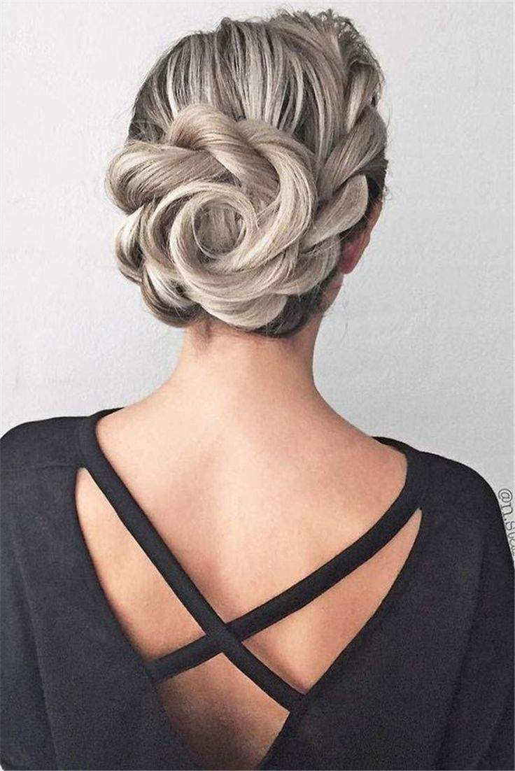 50 Gorgeous And Stunning Wedding Updo Hairstyles For Long Hair - Page 35 of 50