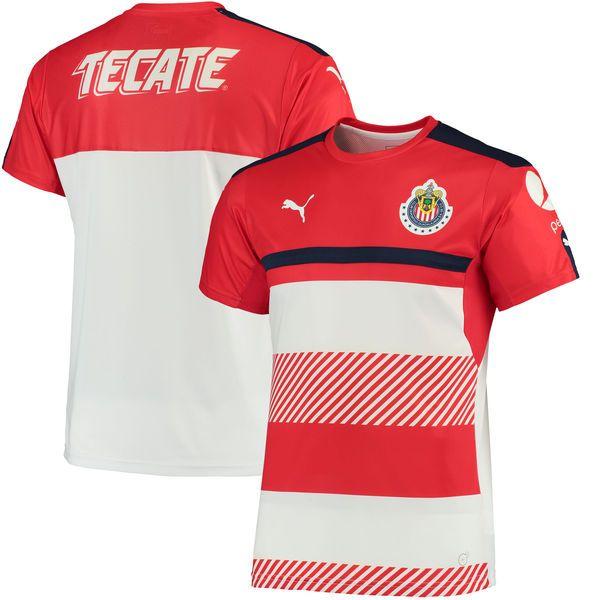 Chivas Puma 2016/17 Training Jersey - Red/White - $59.99
