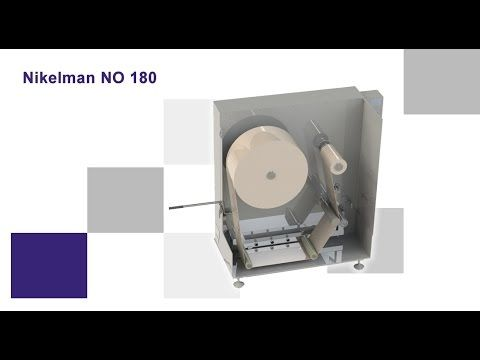 Perforation system on umidification-rewinding device Nikelman® NPO 180 is designed for casing humidificatin before shirring process (for example collagen cas...
