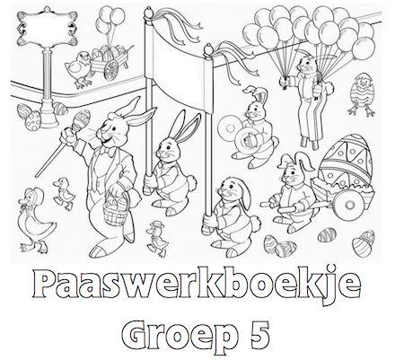 Paaswerkboekje Groep 5