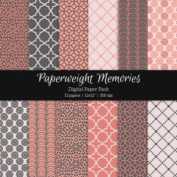 Patterned Paper – True Love by Paperweight Memories on Creative Market --- http://crtv.mk/r0MqY