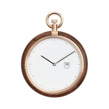 MMT Pocket Watch - Walnut