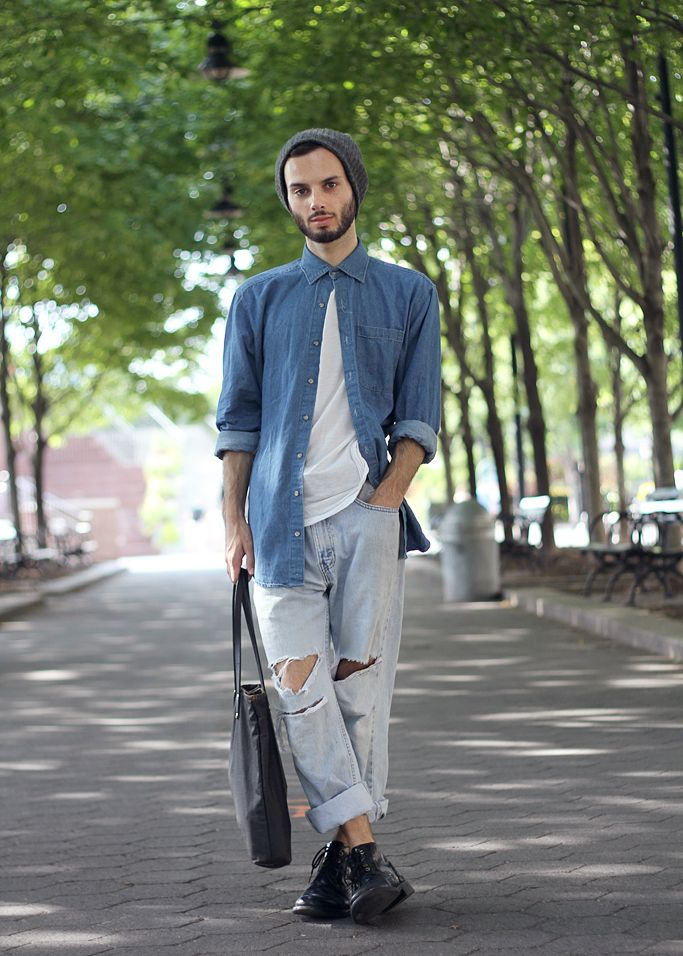 183 best images about Denim on Pinterest | Men street styles ...