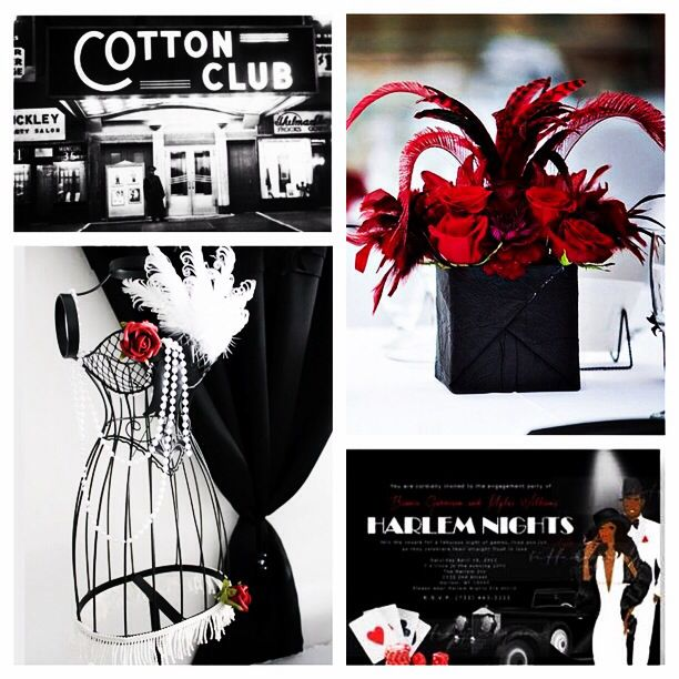 Harlem Nights themed Decor