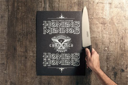 A barbecue book you can cut, slice and cook...
