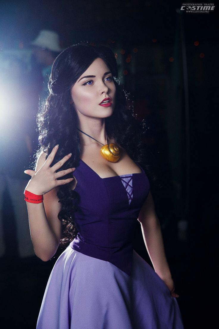 Vanessa- The Little Mermaid, Ilona Bugaeva Cosplay pinned from https://vk.com/sladkoslava http://amzn.to/2sp7uCw