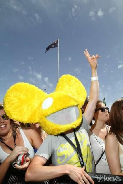 Back in 2009, this guy was one of Deadmau5's biggest fans and made his very own Mau5 head for his set at Foreshore!