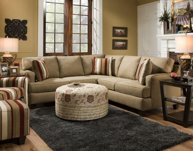 The Khaki Colored Skipper Living Room Is The Perfect Solution For Small  Spaces. A Punch