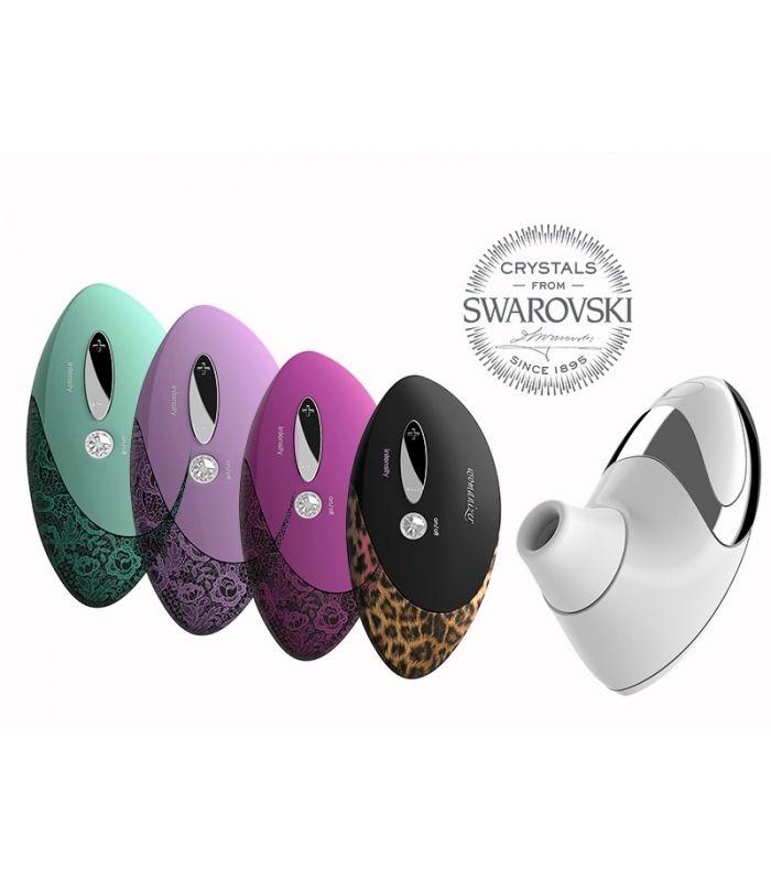 Vibrostimulator clitoridian Womanizer Pro W500 a fost realizat in a doua jumatate a anului 2014, revolutionand lumea jucariilor sexuale pentru femei | Sexshop Online Xtoys.ro