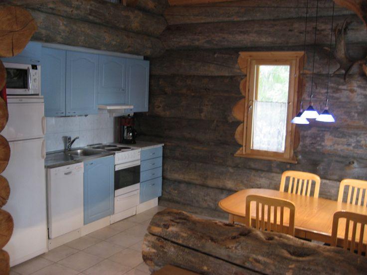 hirvipirtit lapland Finland cabin nr 2 kitchen