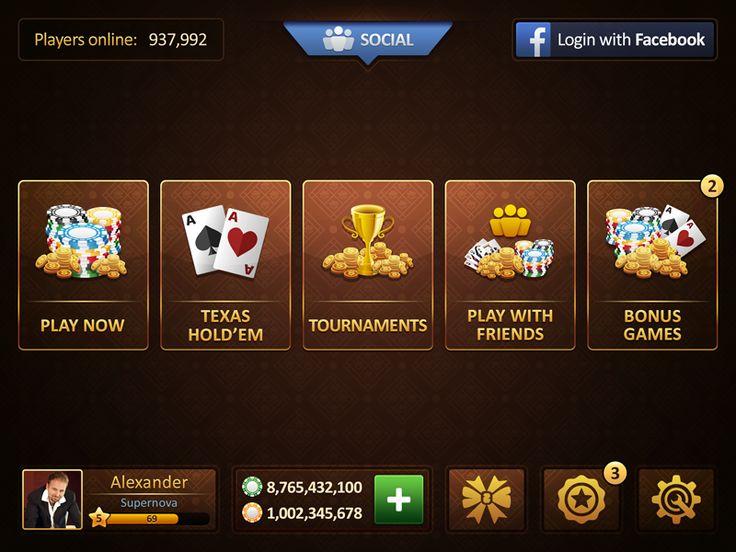 Poker Ui Oak
