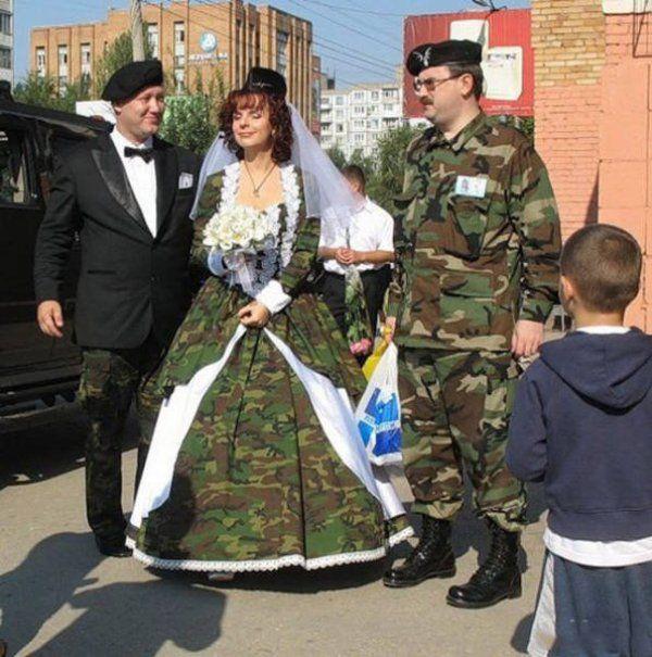 Komik düğün fotoğrafları ve resimleri
