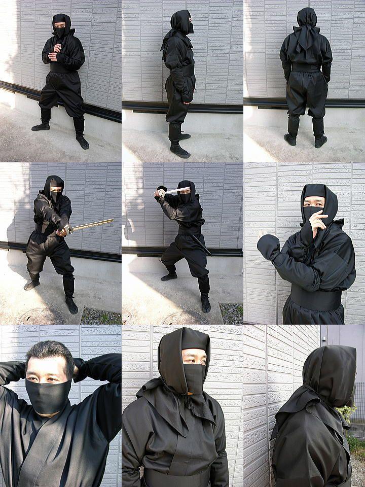 大人用忍者衣装伊賀Versionフル装備(フリーサイズ)ninja wear:伊賀流忍者店 - 【スマイル通販】