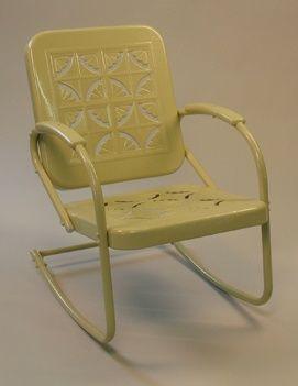 vintage metal furniture vintage patio furniture mulberry street - Vintage Patio Furniture