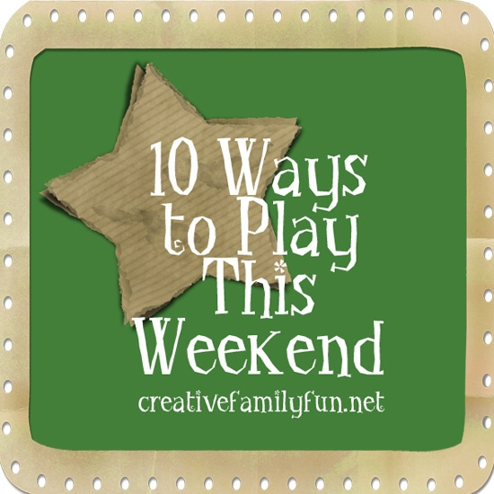 10 Ways to Play This Weekend: Week 9 ~ Creative Family Fun ~ How are you going to play this weekend?: Diy Ideas, Crafts Ideas, Diy Craftidea, Diy Crafts, Diy And Crafts, Crafts Games Learning Ideas, Creative Families, Week 14, Families Fun