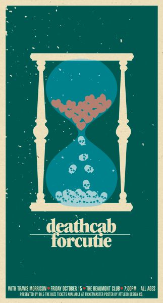 Death Cab For Cutie with Travis Morrison at the Beaumont Club, by Eddie Gossage