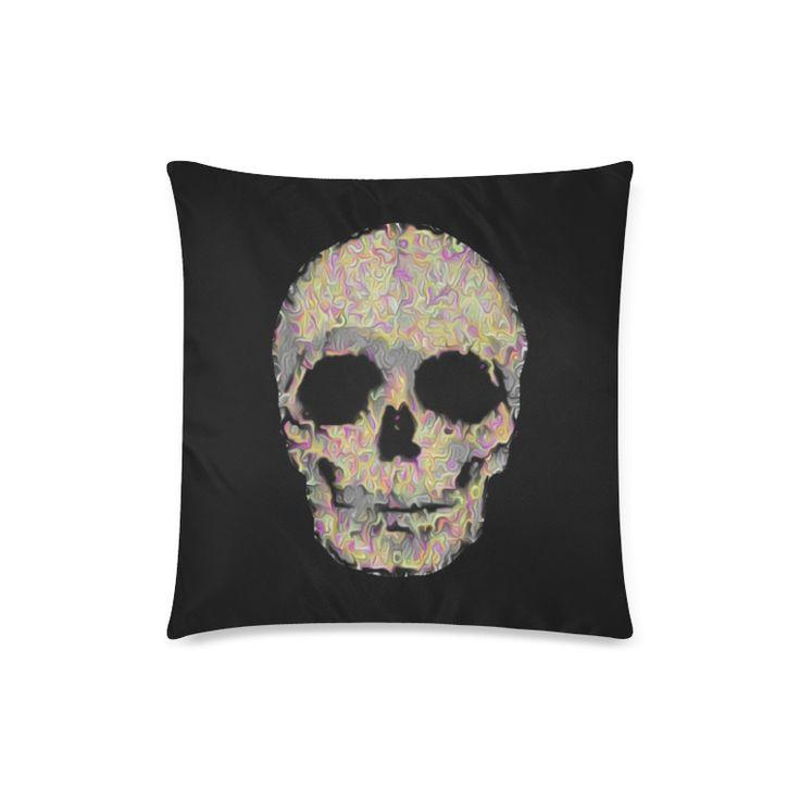 The Living Skull Custom Zippered Pillow Case 18