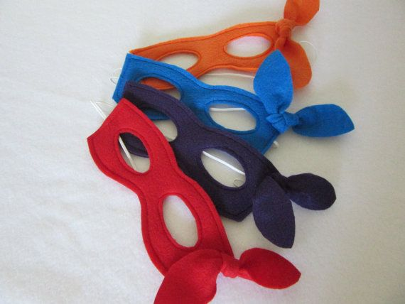 Super Hero Mask Boys Girls Super Hero Mask by OohlalaPretty