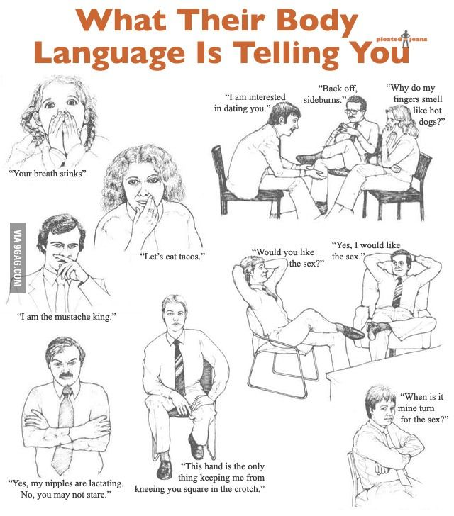 Body language after sex