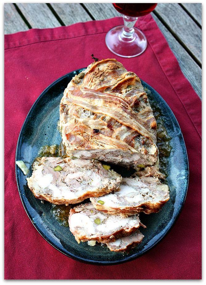 Un dimanche a la campagne: Terrine de poulet au Muscadet