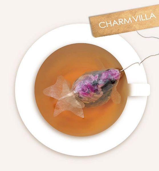 Для некоторых людей, чай не просто напиток, это искусство. Именно поэтому эти чайные пакетики в виде золотых рыбок, скорее всего,