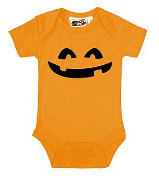 Jack-o-lantern Pumpkin Orange One Piece