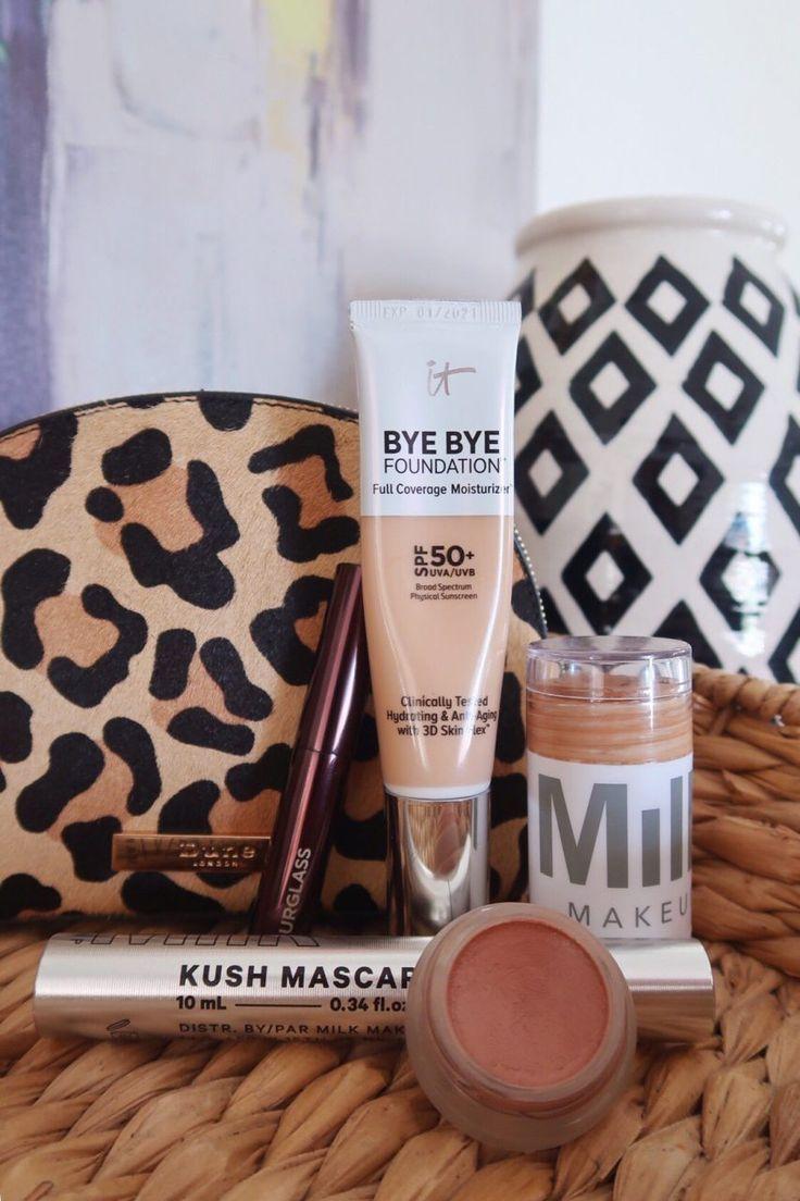 Eine 5-Produkte-Make-up-Routine für den Morgen kann ich nicht kompensieren, # 5ProductsMak …   – Skin