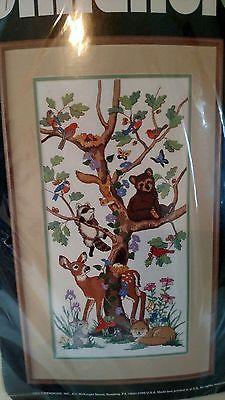"Dimensions Cross Stitch Kit ""Woodland Wildlife"" NIP"