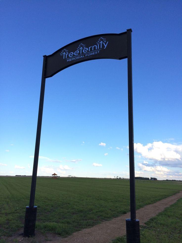 Treeternity Sign