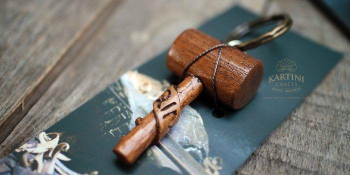 Wood Keychains Crafts Merchandise