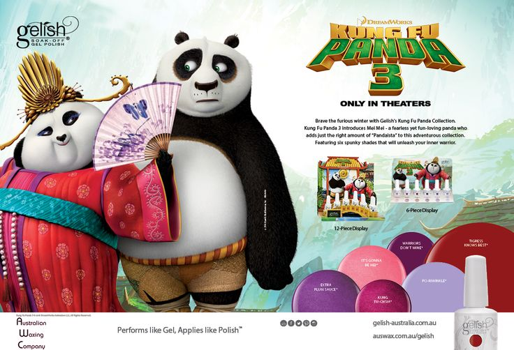 """Brave the furious winter with the Kung Fu Panda 3 Collection. Kung Fu Panda 3 introduces Mei Mei - a fearless yet fun-loving panda who adds just the right amount of """"Panda-ista"""" to this adventurous collection. Featuring six spunky shades that will unleash your inner warrior."""