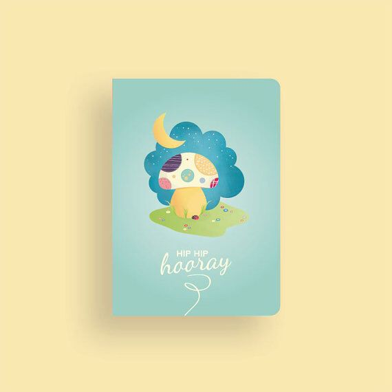 Mushroom themed birthday card • My little Sunshine Collection by Celebratink