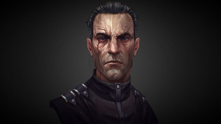Dishonored - Assassin Daud fan art by Miki Bencz