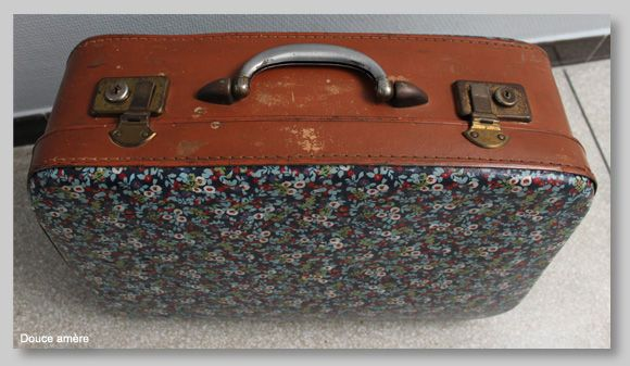 ma valise en carton douce am re patchwork pinterest valise en carton nouvelle vie et. Black Bedroom Furniture Sets. Home Design Ideas
