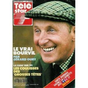 Le vrai Bourvil par Gérard Oury, dans Télé Star n°800 du 27/01/1992 [couverture et article mis en vente par Presse-Mémoire]