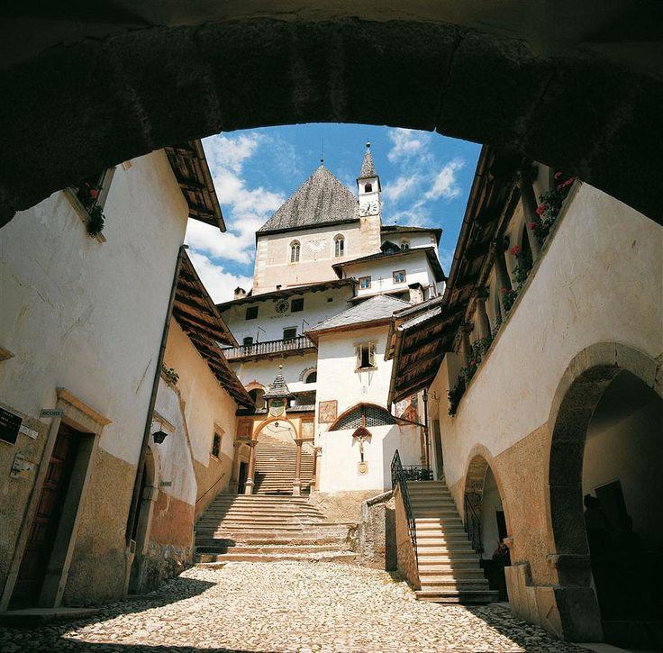 San Romedio - Val di Non - Trentino Alto Adige This place is truly beautiful.