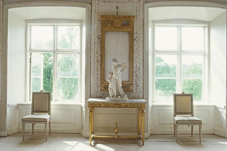 Classic 18th century Swedish Interiors.