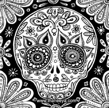 calavera mask coloring page - 355 best masks images on pinterest masks face masks and