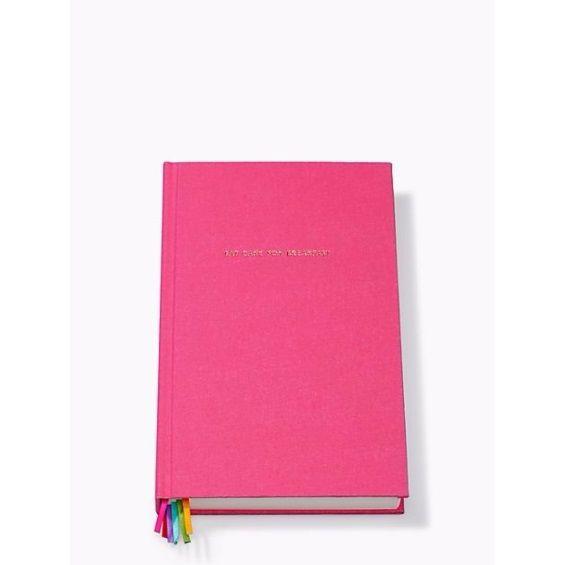 Kate Spade New York Pink 'Eat Cake For Breakfast' Journal Notebook